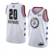 Camisetas NBA Baratas Boston Celtics 2019 Gordon Hayward 20# Blanco All Star Game Swingman..